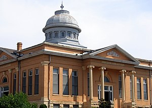 National Register of Historic Places listings in Logan County, Oklahoma - Image: Carnegie Library 1