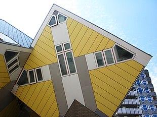 Una casa cubica di Rotterdam