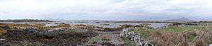 Cashel, County Galway - Image: Cashel (comté de Galway) Vue panoramique