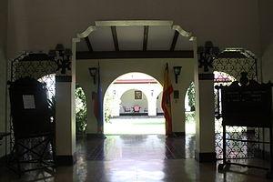 Casino Español de Manila - Main lobby that leads to the inner courtyard.