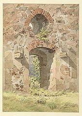 Ruine der Pforte des Klosters zum Heiligen Kreuz, Meißen