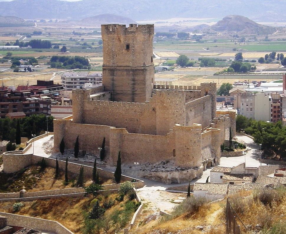 Castillo Atalaya, desde inicio sendero a salvatierra y mina de los colores2