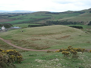 Castle Law -  The Hillfort of Castlelaw.