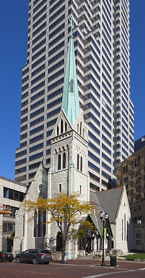 Christ Church Cathedral (Indianapolis) - Christ Church Cathedral in 2016