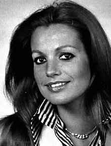 Catherine Spaak nel 1975