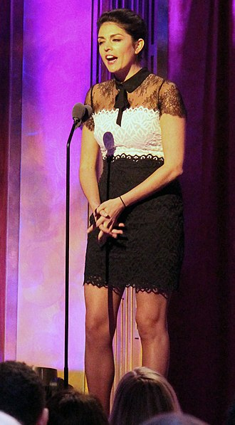 Cecily Strong - Image: Cecily Strong at the 74th Annual Peabody Awards crop