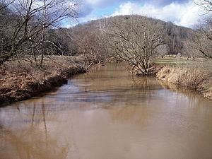 Cedar Creek (West Virginia) - Cedar Creek in Cedar Creek State Park