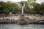 Celebrating Victory Day and the 70th anniversary of Sevastopol's liberation (2493-07)