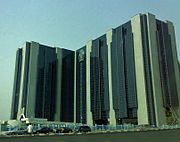 Headquarters of the Central Bank of Nigeria in Abuja, Nigeria