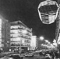 Centralny Dom Towarowy nocą lata 60.jpg