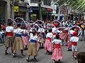 Cercavila menuda 2013 - 20 Nens de l'Agrupació Folklorica d'Igualada amb el ball de cercolets.JPG
