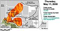 Cerro Grande May 11 2000 GAO Fire Progression.jpg
