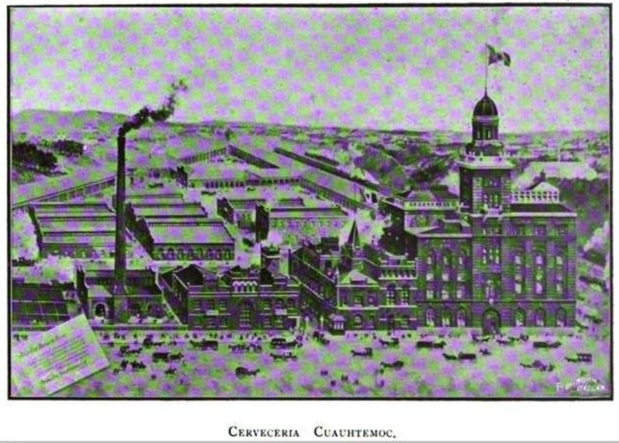 Cervecería Cuauhtemoc Monterrey 1890