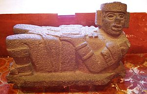 Chacmool - A Chacmool in the regional museum of Tlaxcala.