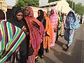 Chadian women queueing during the 2016 presidential election.jpg