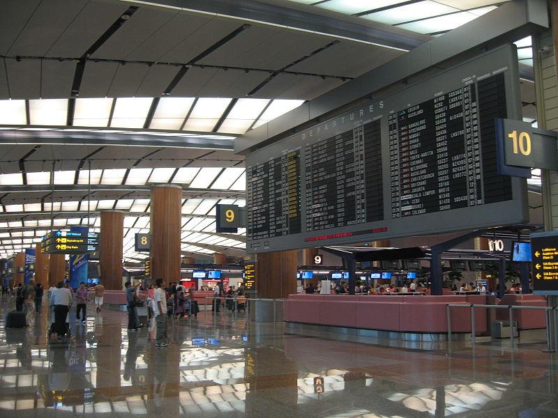 싱가포르 창이공항 2터미널