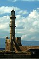Chania lighthouse, Crete.JPG