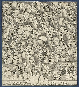 Characters and Caricaturas - Image: Characters and Caricaturas by William Hogarth