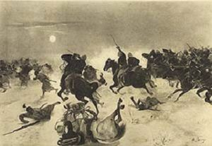 Kassassin - Image: Charge at Kassassin, 1882