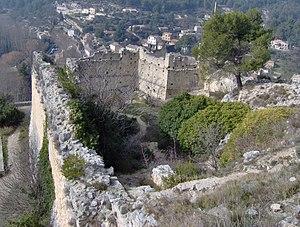 Philippe de Cabassoles - Philippe de Cabassole's castle ruins