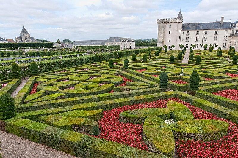 Jardins ch teaux de la loire for Jardin villandry