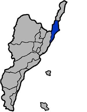 Chenggong, Taitung - Chenggong Township in Taitung County