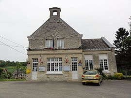 The town hall of Chermizy-Ailles