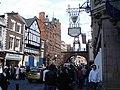 Chester - outside the Grosvenor Hotel - geograph.org.uk - 1174278.jpg