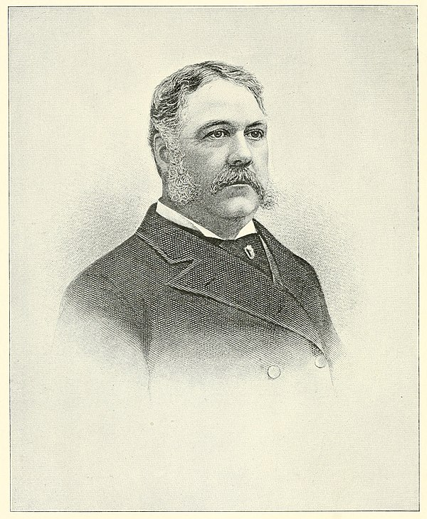 Chester Alan Arthur - Appletons' Cyclopædia of American Biography (1900, volume 1) (page 122 crop).jpg