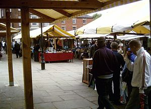 Chesterfield - Part of Chesterfield's market