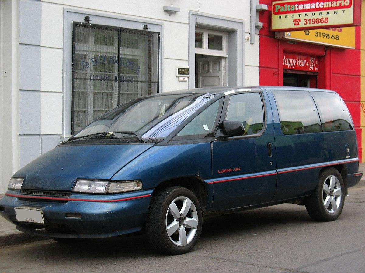 Mazda 3 Sport >> Chevrolet Lumina APV – Wikipédia, a enciclopédia livre