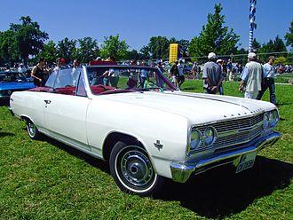 Chevrolet Malibu - 1965 Chevrolet Chevelle Malibu convertible