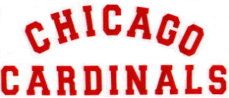 History of the Chicago Cardinals - Image: Chicago Cardinals wordmark
