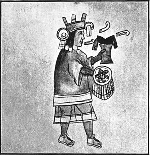 Chicomecoatl - Chicomecōātl in an illustration from Rig Veda Americanus
