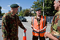 Chief of Defence Force with soldiers at cordon - Flickr - NZ Defence Force.jpg