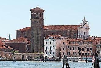 I Gesuiti, Venice - View from lagoon