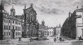 Palazzo Albertoni Spinola - Campitelli square (1660 ca)