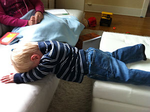 English: Children's planking