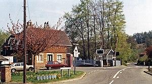 Chilworth, Surrey - Chilworth railway station