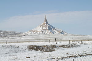 Landmarks of the Nebraska Territory - Chimney Rock, 2002