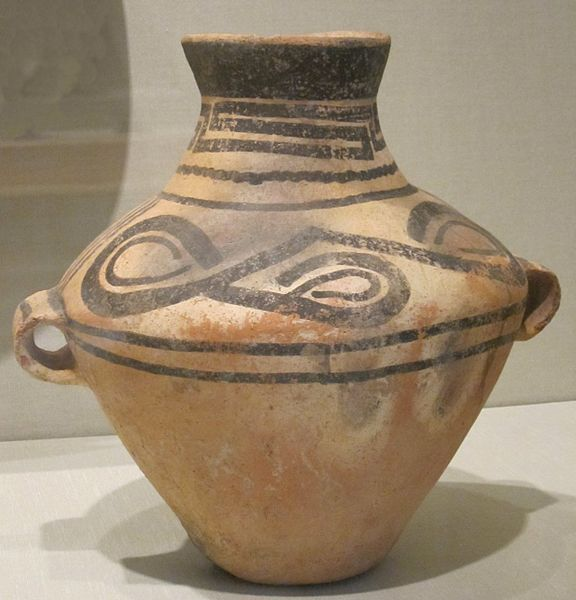 File:Chinese jar, Neolithic period, painted earthenware, HAA.JPG