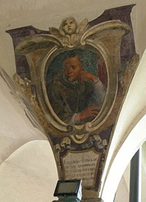 Chiostro di ognissanti, personalità francescane 41 clemente Grosso Della Rovere.JPG