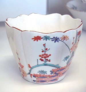 Hot chocolate - Chocolate cup, Chantilly porcelain, 18th century
