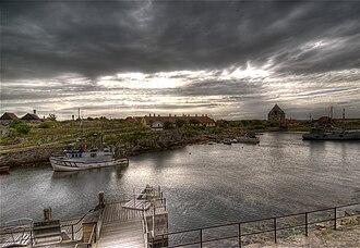 Ertholmene - View from Christiansø to Frederiksø