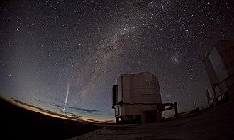C/2011 W3 (Lovejoy) - Image: Christmas Comet Lovejoy Captured at Paranal