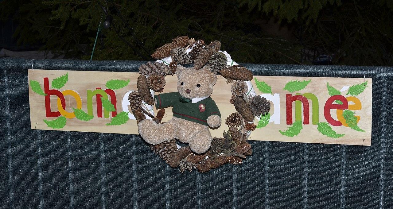 Menu Noel Decoration