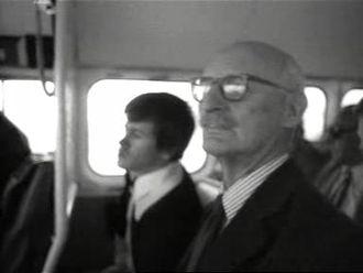 Christopher Cockerell - Cockerell in 1976