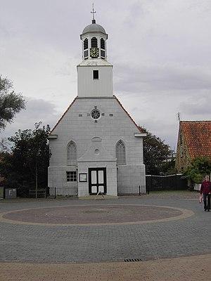 De Koog - Church in the centre of De Koog
