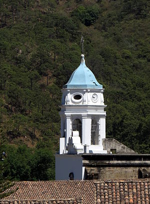 San Sebastián del Oeste - Image: Church of San Sebastián tower