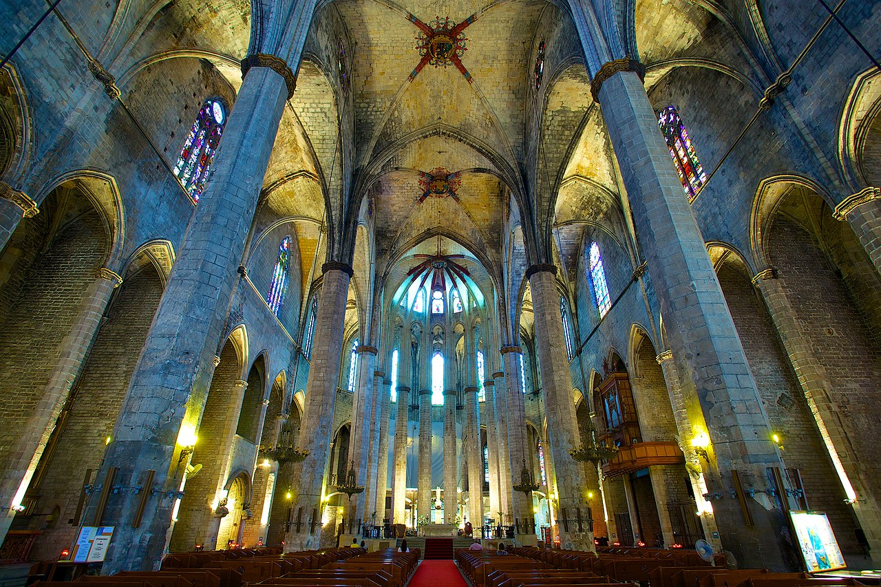 File:Church of Santa Maria del Mar.jpg - Wikimedia Commons